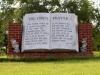 Granite Memorial Sign