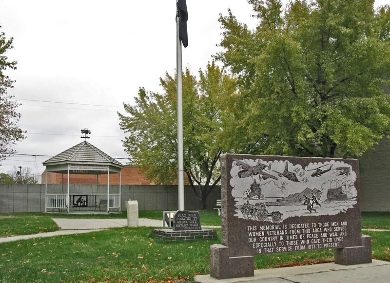 Park Memorial Sign